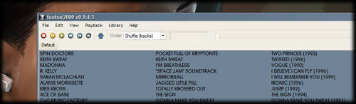 Buuf Icons for Foobar by TheFireBall