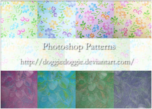 Photoshop Patterns -1