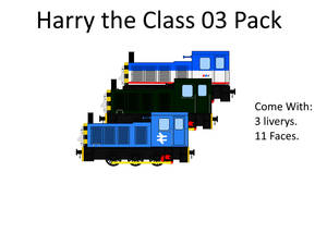 Harry The Class 03 pack