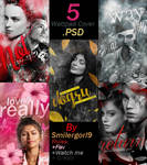 Wattpad Covers .PSD Pack