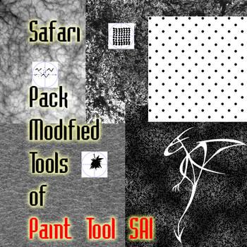 Safari Pack Modified Tools of Paint Tool SAI by Safari-FDB