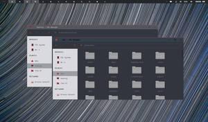 Windows 10 Dark Theme (Small) for XFWM