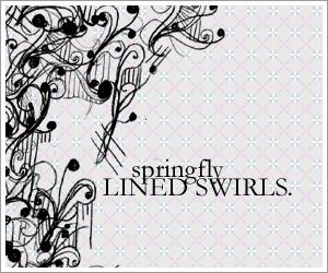 Lined Swirls brushset by SaltedPanda