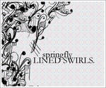 Lined Swirls brushset