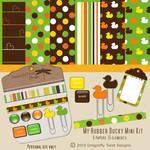 Rubber Ducky Mini Digital Scrapbook Kit