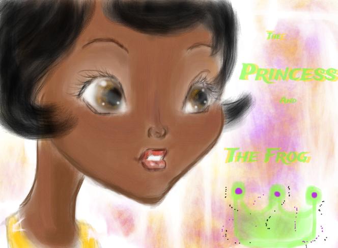 PATF: Princess Tiana by AfricanAmericanAnime