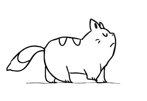 Cat Walking Cycle Practice
