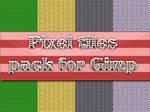 PixelArt tiles pack for Gimp