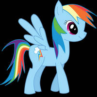 Why not Rainbow Dash?