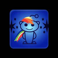 Rainbow Dash + Reddit : Feedit