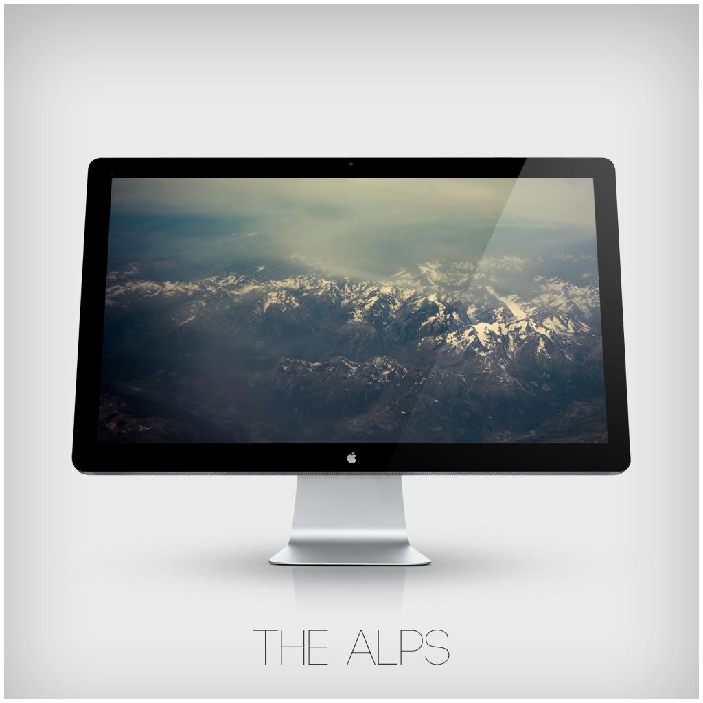 The Alps Wallpaper