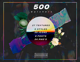 500 Watchers Pack // Resources