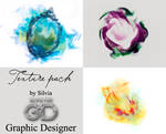 Texture pack by Silvia for Graphic Designer.
