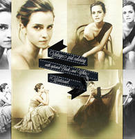 Psd coloring, Vintage Emma Watson | Winterowl.