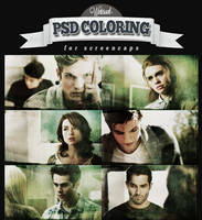 Psd coloring, Teen Wolf 3x04 | Winterowl. by taxitoheaven