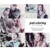 Psd coloring, hp | Winterowl. by taxitoheaven