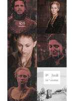 Psd pack, 2 game of thrones psds | Winterowl. by taxitoheaven