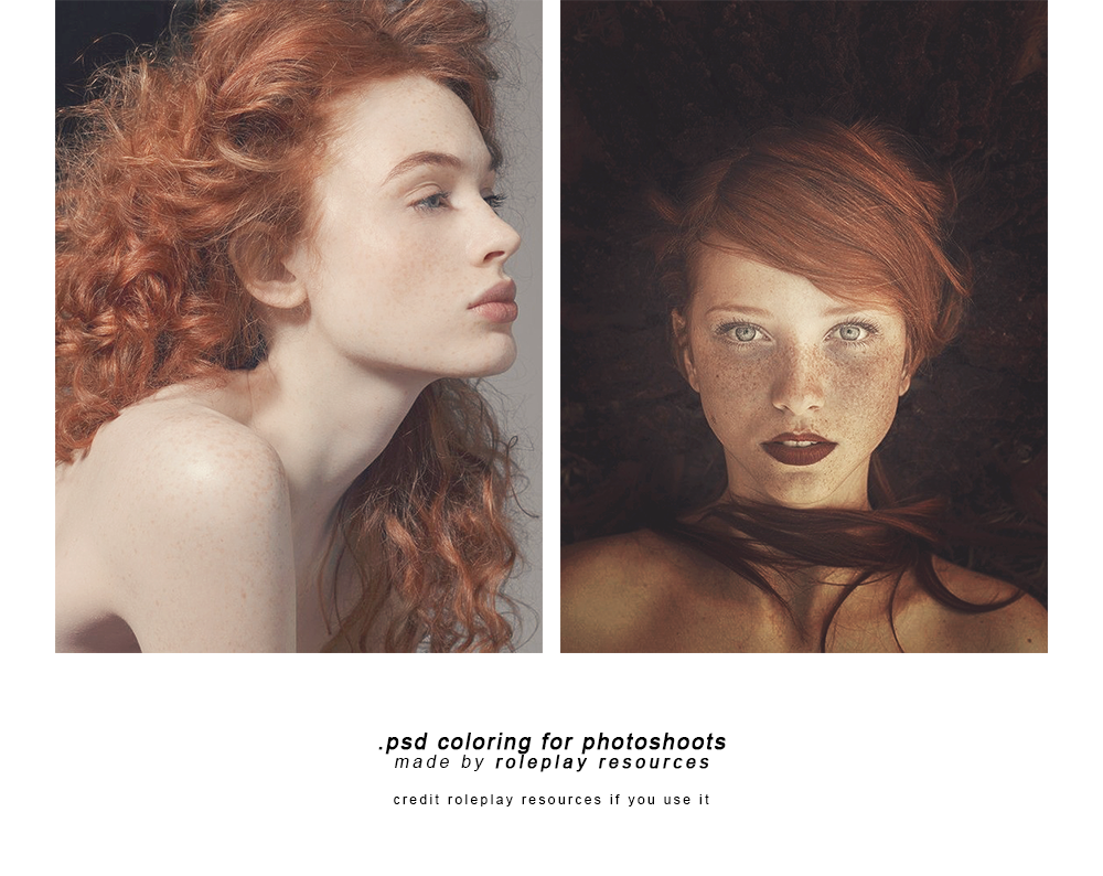 .psd coloring for photoshoots | Roleplay Resources
