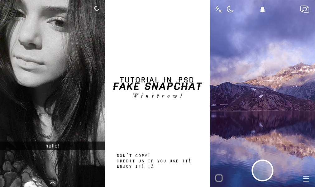 Psd fake snapchat tutorial winterowl by taxitoheaven on deviantart for Snapchat filter photoshop