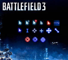 Battlefield 3 Cursor / busy, loading... by Stinkefuss