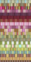 Twenty-Two Seamless Stripes