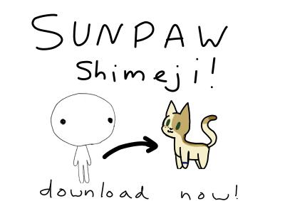 Sunpaw Shimeji (Download + Instructions) by Smileyme2