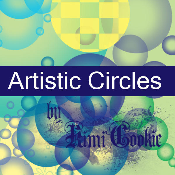 Artistic Circles by KimiCookie