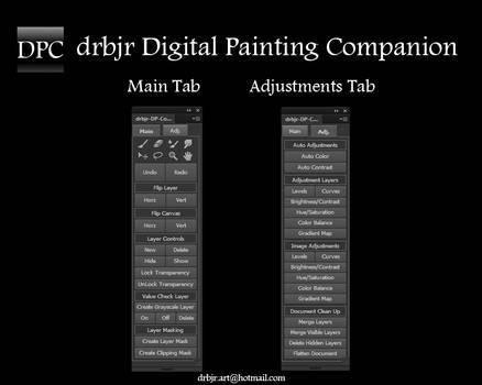 drbjr Digital Painting Companion PS CS6/CC - FREE!