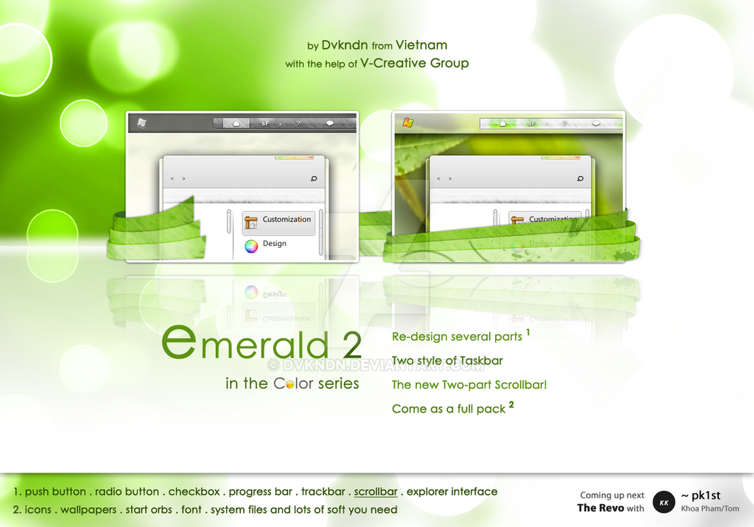 The Emerald v2 . Full Pack by dvkndn