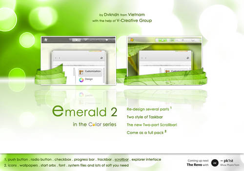 The Emerald v2 . Full Pack