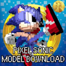Pixel Sonic Model Download