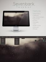 Sevenbark  Taskbar  for Rainmeter by Setuini