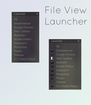 File View - Launcher for Rainmeter