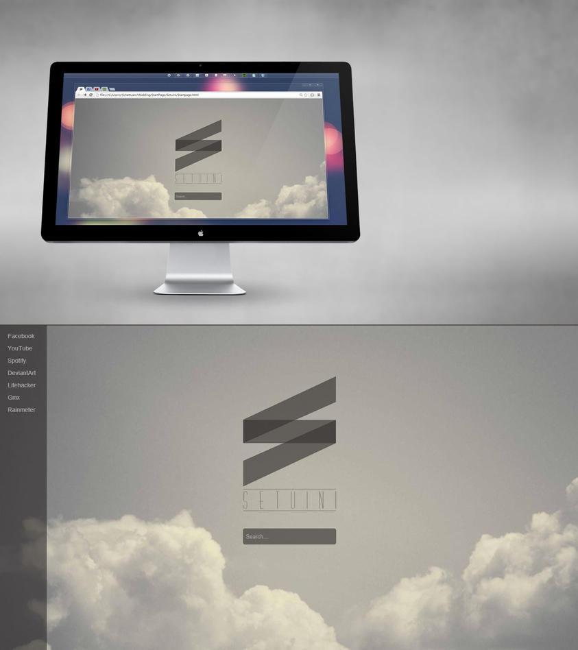 Startpage by Setuini