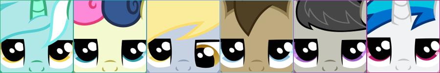 Grumpy Ponies - Secondary Six (Avatars) by Foxy-Noxy