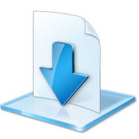 Downloads Libraries Icon by Lexenx