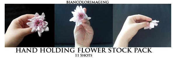 Holding Flower Pack by biancolorimaging