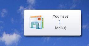 Mail Balloon Notification