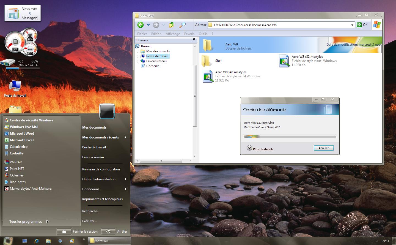 Windows 8 Aero XP