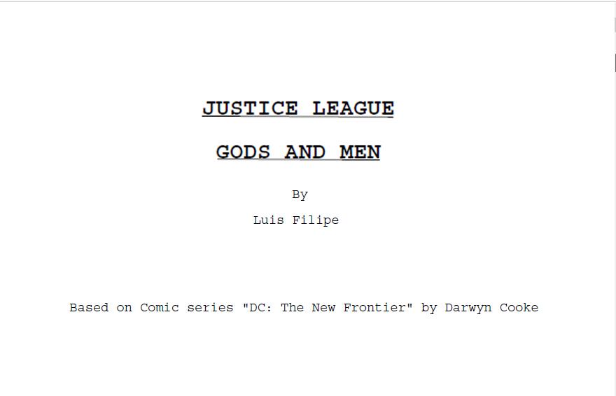 Justice League - Gods and Men by AldoRaine13