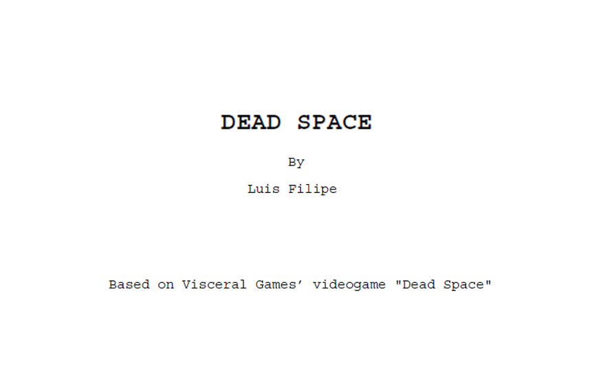 Dead Space by AldoRaine13