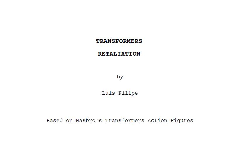 Transformers - Retaliation by AldoRaine13