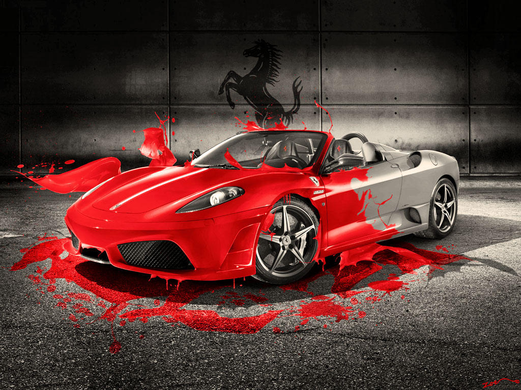 bull david prints ferrari art publishing home cover