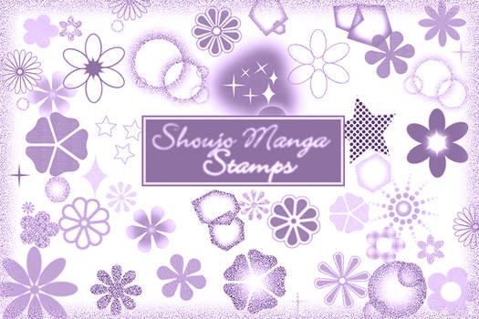 Shoujo Manga Stamps