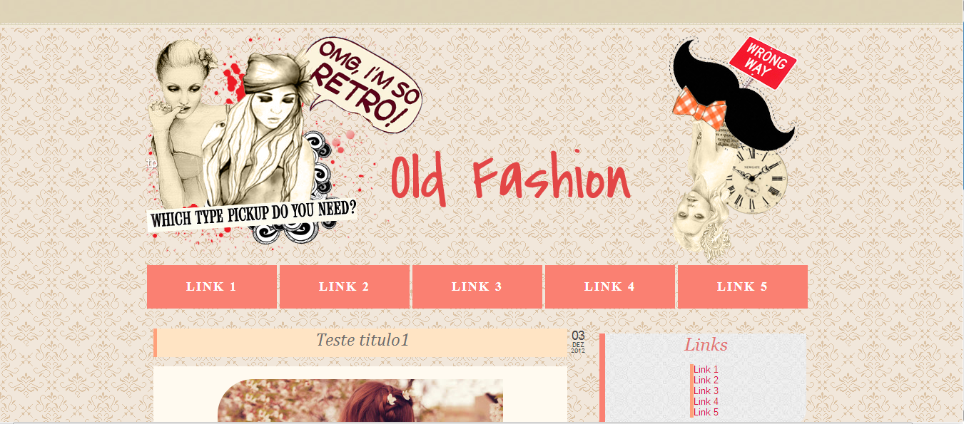 Layout Free - Old Fashion by tastetheskyresources