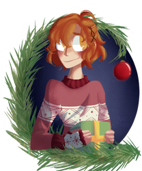 |AU| christmas lights by bao-mao
