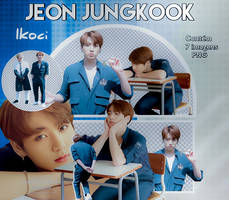 Jeon Jungkook Png Pack by iKoci