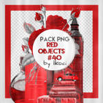 Red objects || 40 Pack png