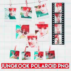 #Jeon Jungkook // POLAROID PNG by iKoci