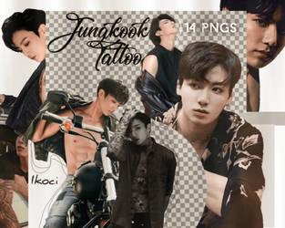 JEON JUNGKOOK TATTOO || BTS // BADBOY by iKoci